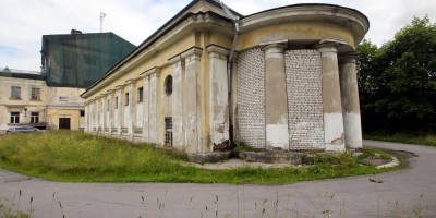 Сергиево, школа на Российском бульваре, пристройка