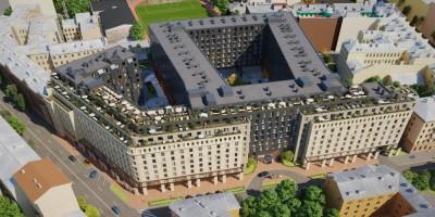 Социалистическая улица, 21, проект апарт-отеля