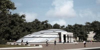 Станция метро Парк Победы, вариант 2