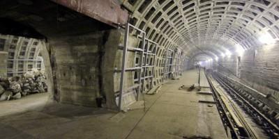 Станция метро Проспект Славы, подземные залы