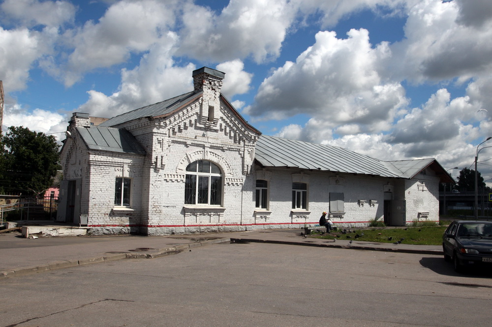 Вокзал станции Пискаревка
