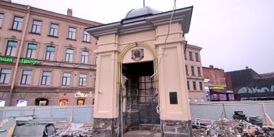 Часовня на Сенной, реконструкция
