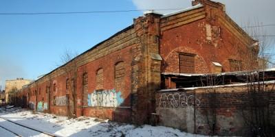Гараж и мастерские Товарищества автомобильно-омнибусного сообщения на улице Шкапина