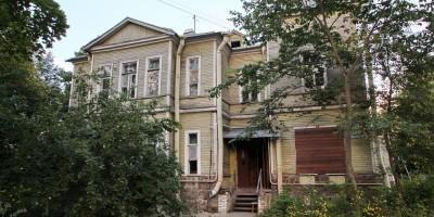 Петергоф, улица Аврова, дача Виноградовой