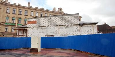 Сенная площадь, реконструкция часовни