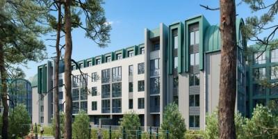 Сестрорецкий курорт, проект апарт-отеля
