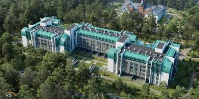 Сестрорецкий курорт сверху, Лесной пансионат