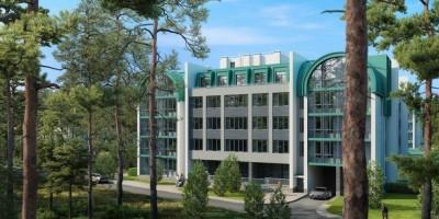 Сестрорецкий курорт в Сестрорецке, проект апарт-отеля