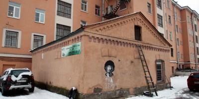 Шоссе Революции, дом 112, дворовый флигель
