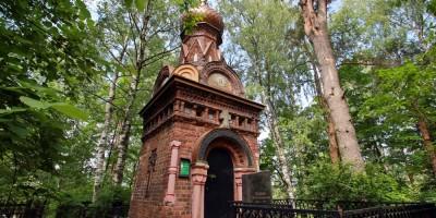 Шуваловское кладбище, часовня Спаса Нерукотворного Образа