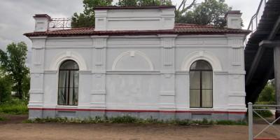 Станция Александровская, багажное отделение
