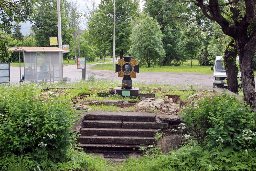 Станция Александровская, фундаменты Вознесенской часовни