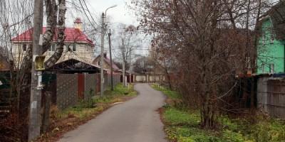 Старо-Паново, Пановская улица и заборы