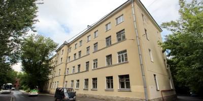 Улица Метростроевцев, дом 2