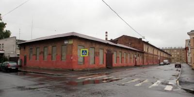 Улица Швецова, 12, корпус 2, вид со стороны Майкова переулка