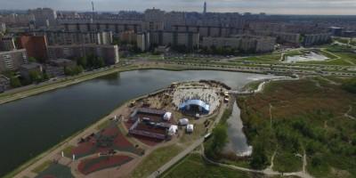 Парк на озере Долгом