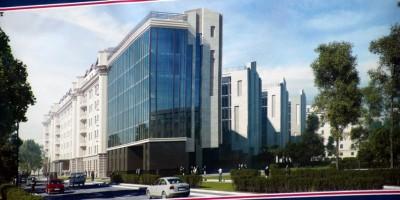 Черниговская улица, 8, проект офисно-гостиничного комплекса
