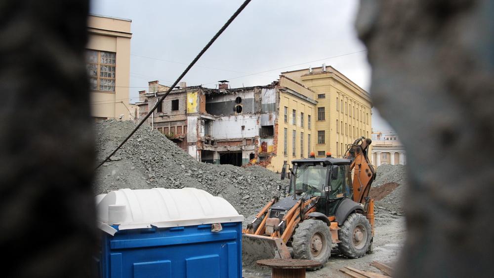 НИИ высоковольтного аппаратостроения на Косой линии