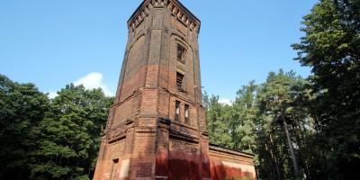 Парк Лесотехнической академии, водонапорная башня