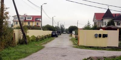 Петергоф, Деминский переулок