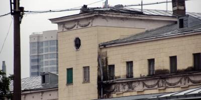 Петмол на Московском проспекте, дворовый корпус, фрагмент