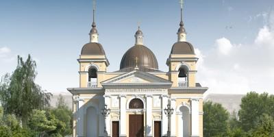 Проект воссоздания Рождественской церкви на Песках