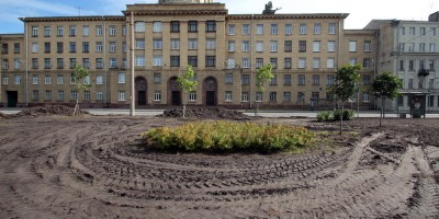 Старо-Ждановский сквер, ремонт, ВКА
