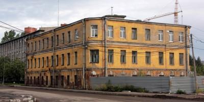 Здание на Невельской улице