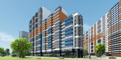 Жилой комплекс на Глухарской улице