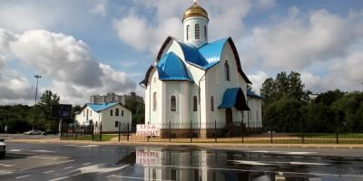 Церковь Андрея Первозванного на Заневском проспекте
