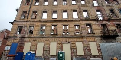Державинский переулок, 5, заброшенное здание