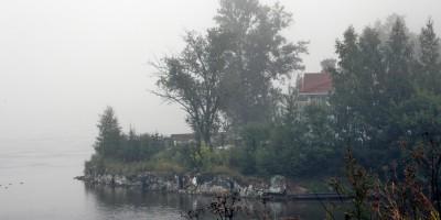 Дом в устье реки Славянки