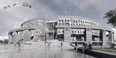 Музей обороны и блокады, проект Мамошина