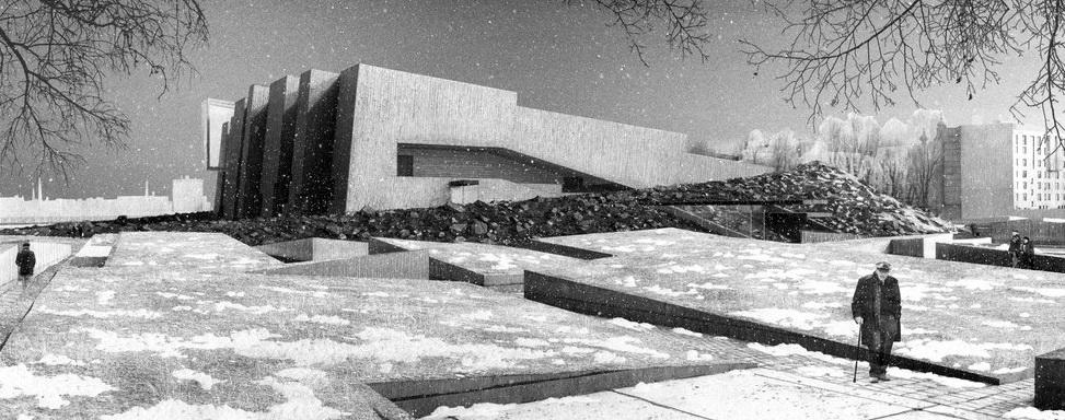 Музей обороны и блокады, проект Земцова
