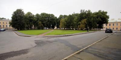 Петергоф, Разводная площадь