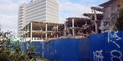 Улица Маршала Тухачевского, 18, паркинг после сноса