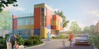 Улица Седова, проект детского центра