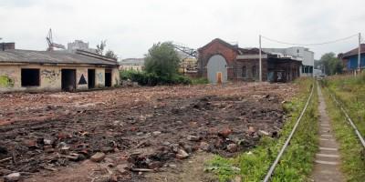 Улица Шкапина после сноса