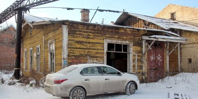Улица Шкапина, западный деревянный дом
