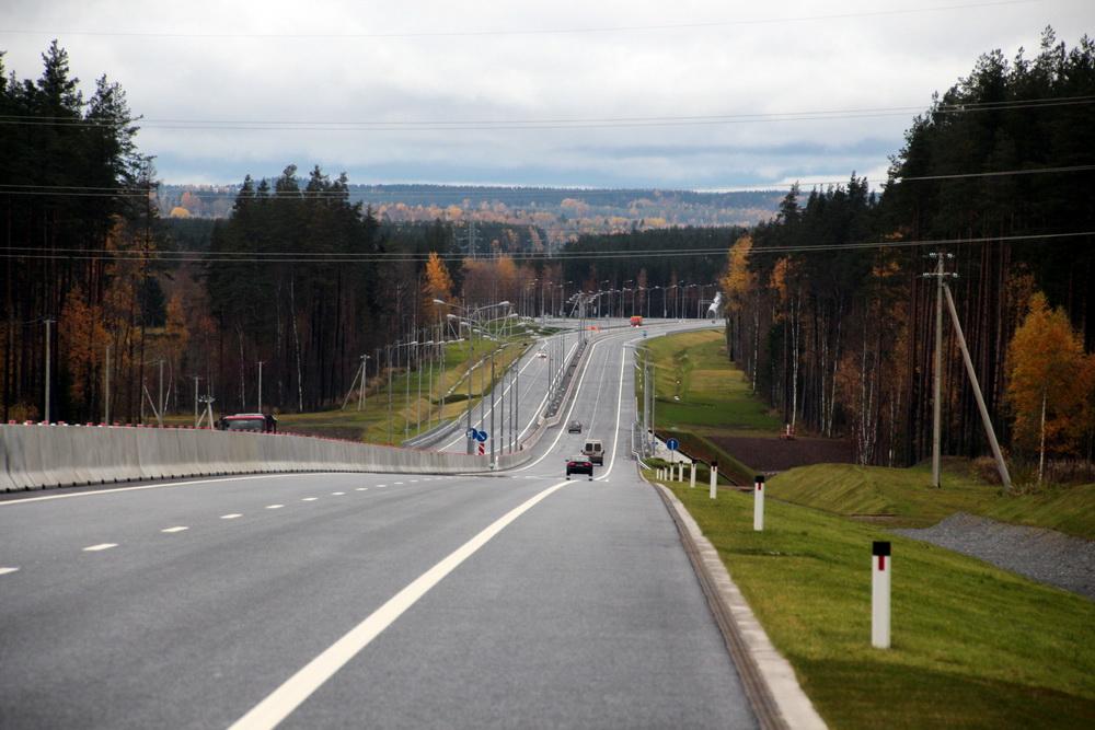 Автодорога Сортавала, новый участок, рельеф