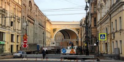 Большая Морская улица, реконструкция