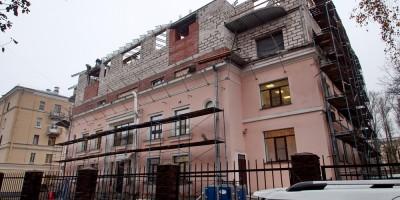 Глазурная улица, дом 8, реконструкция