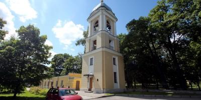 Колокольня Благовещенской церкви на Приморском проспекте