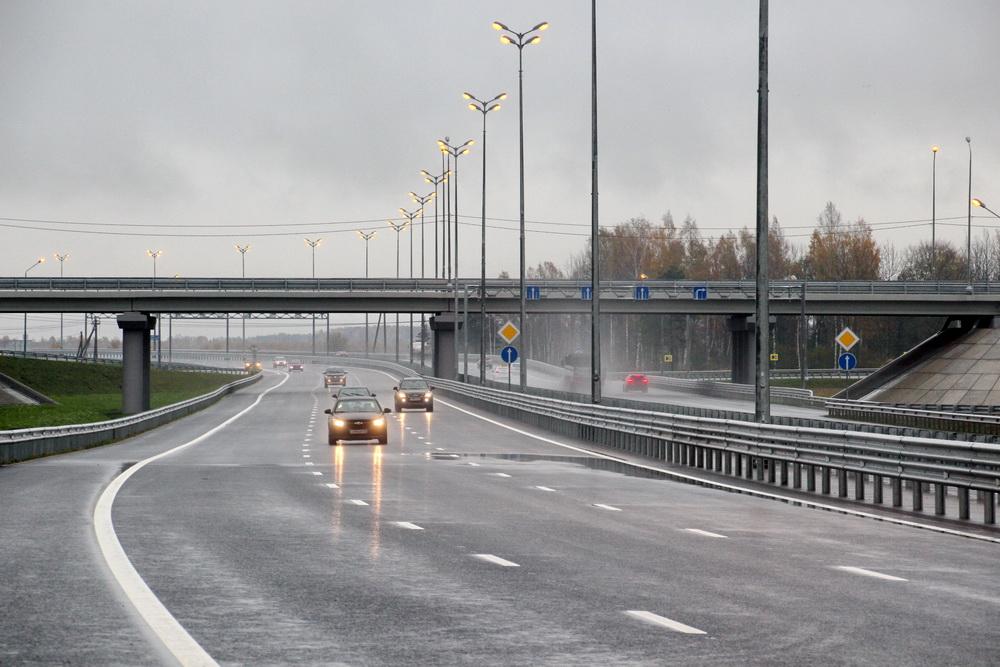 Киевское шоссе, дублер, путепровод