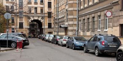 Мариинский проезд, арка