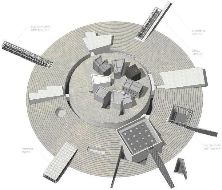 Музей обороны и блокады Ленинграда, вид сверху