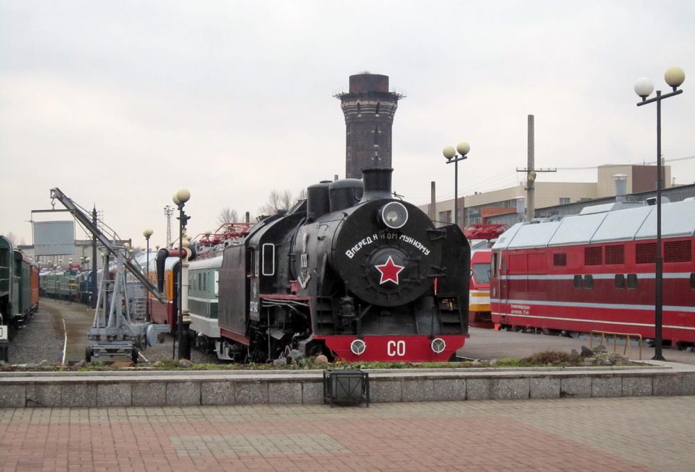 Музей ОЖД у Варшавского вокзала, паровоз