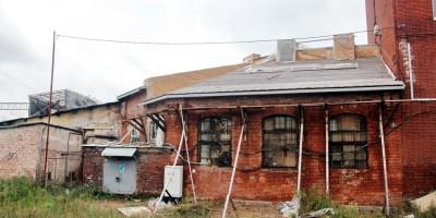 Нейшлотский переулок, ремонт флигеля