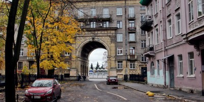 Офицерский переулок, арка