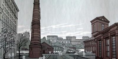 Пластполимер, концепция застройки, промышленные здания